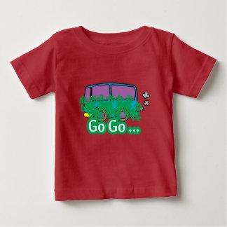 Camiseta Para Bebê vá vão