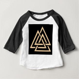 Camiseta Para Bebê Valknut