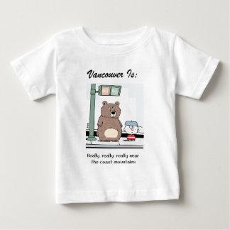 Camiseta Para Bebê Vancôver é: c - pelo harrop