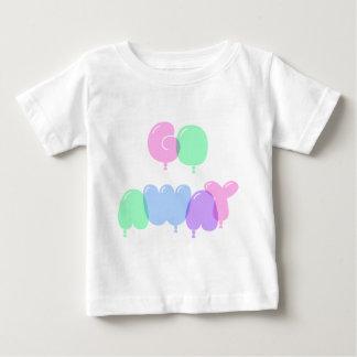 Camiseta Para Bebê Vão as letras ausentes da bolha