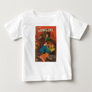 Camiseta Para Bebê Vaqueira ciumento