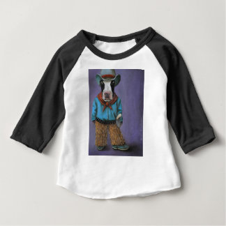 Camiseta Para Bebê Vaqueiro real
