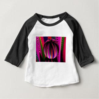 Camiseta Para Bebê Variação das cores no vidro