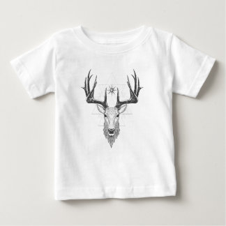 Camiseta Para Bebê Veado de Geo