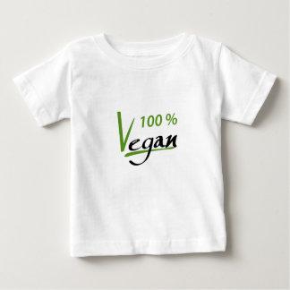 Camiseta Para Bebê Vegan de 100 por cento