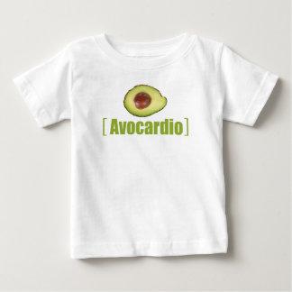 Camiseta Para Bebê Vegetal ilustrado da chalaça de Avocardio abacate