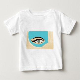 Camiseta Para Bebê Veja o azul