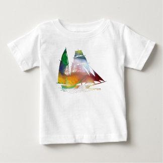 Camiseta Para Bebê Veleiro