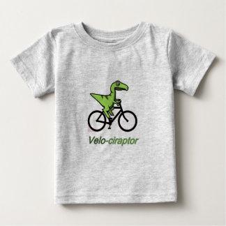 Camiseta Para Bebê Velociraptor