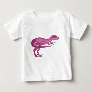 Camiseta Para Bebê Velociraptor violeta