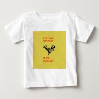 Camiseta Para Bebê Vem aqui a história do furacão