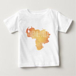 Camiseta Para Bebê Venezuela