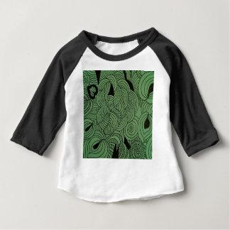 Camiseta Para Bebê Verde da formação do éter