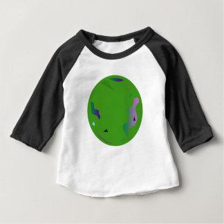 Camiseta Para Bebê Verde do OPAL. Arte finala original