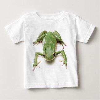 Camiseta Para Bebê Verde-Sapo