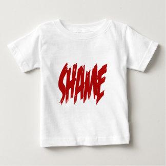 Camiseta Para Bebê Vergonha