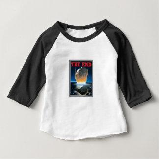 Camiseta Para Bebê vermelho a extremidade asteróide