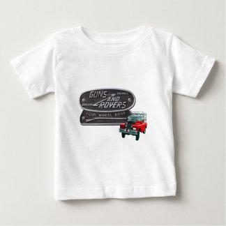 Camiseta Para Bebê Vermelho Rover das armas e dos vagabundos