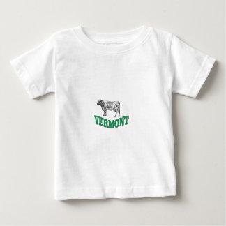 Camiseta Para Bebê vermont verde