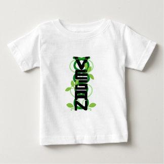 Camiseta Para Bebê Vertical do Vegan