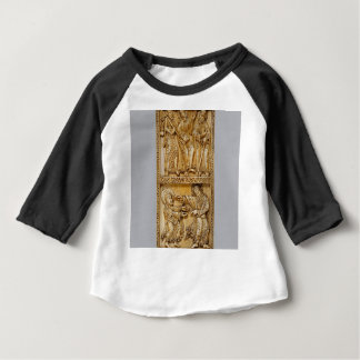Camiseta Para Bebê Viagem a Emmaus e a Noli mim Tangere
