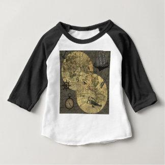Camiseta Para Bebê Viagem em todo o mundo