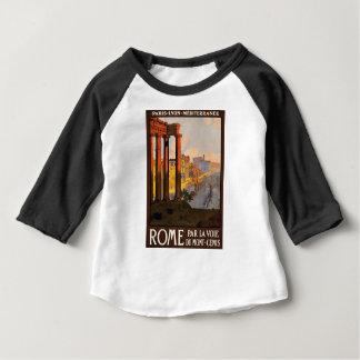 Camiseta Para Bebê Viagens vintage Roma Italia 1920