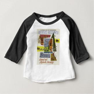 Camiseta Para Bebê Viagens vintage South Dakota EUA