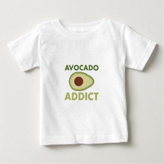 Camiseta Para Bebê Viciado do abacate