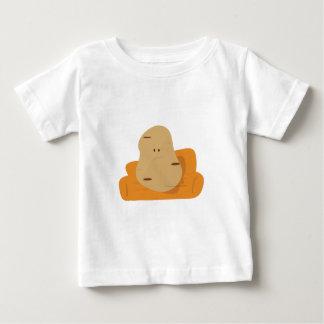 Camiseta Para Bebê Viciado em televisão