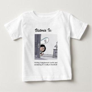 Camiseta Para Bebê Victoria é: a - por Harrop
