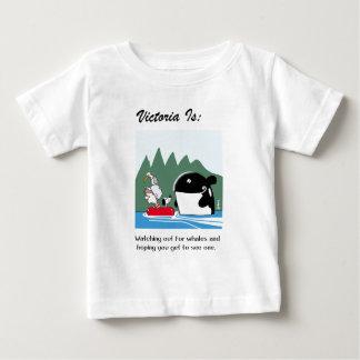 Camiseta Para Bebê Victoria é: b - pelo harrop
