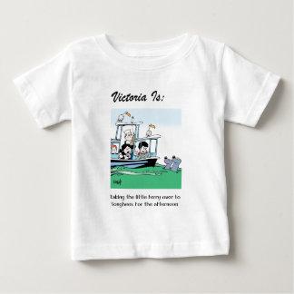 Camiseta Para Bebê Victoria é: c - pelo harrop