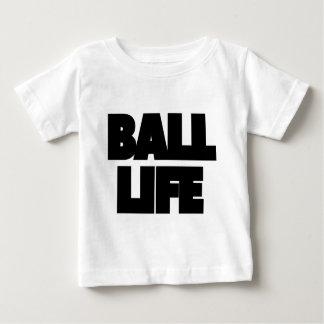 Camiseta Para Bebê Vida da bola