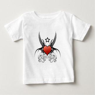 Camiseta Para Bebê Vida da rocha 4