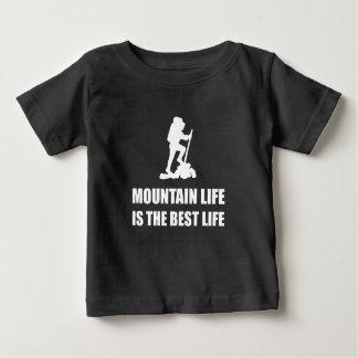 Camiseta Para Bebê Vida da vida da montanha a melhor
