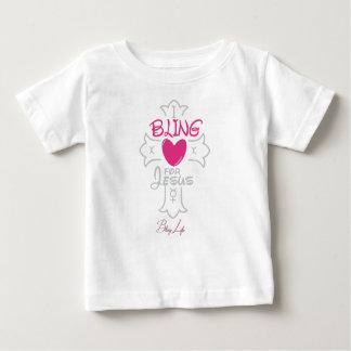 Camiseta Para Bebê Vida de Bling mim Bling para o t-shirt do jérsei
