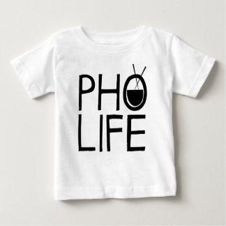 Camiseta Para Bebê Vida de Pho