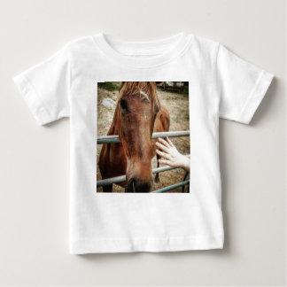 Camiseta Para Bebê Vida do cavalo