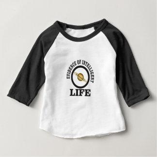 Camiseta Para Bebê vida inteligente da regra das mulheres