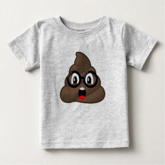 Camiseta Para Bebê Vidros surpreendidos Emoji do tombadilho