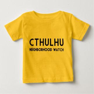 Camiseta Para Bebê Vigilância de bairro de Cthulhu