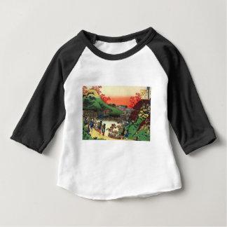Camiseta Para Bebê Vila japonesa