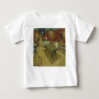 Camiseta Para Bebê Vincent van Gogh o trabalho de arte da pintura do