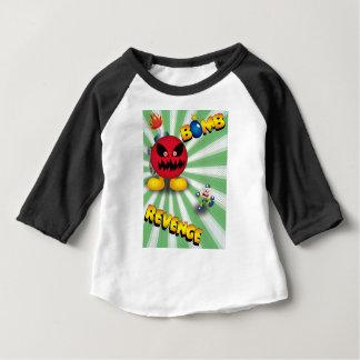 Camiseta Para Bebê Vingança da bomba