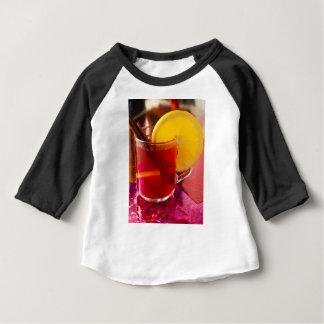 Camiseta Para Bebê Vinho mulled fruta com canela e laranja