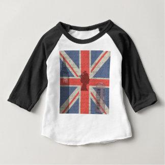 Camiseta Para Bebê Vintage Londres
