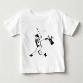 Camiseta Para Bebê Violinista do basebol