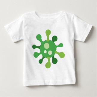 Camiseta Para Bebê Vírus