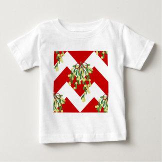 Camiseta Para Bebê visco da viga do xmas